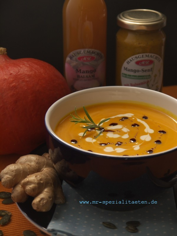 hokkaido suppe  mit Kürbisöl