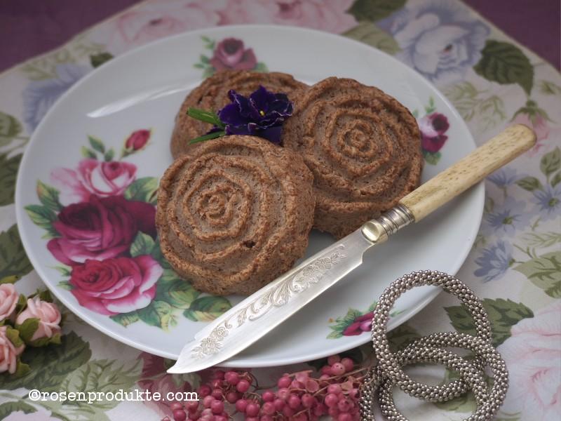 Schokoladen Senf Butter auf Teller