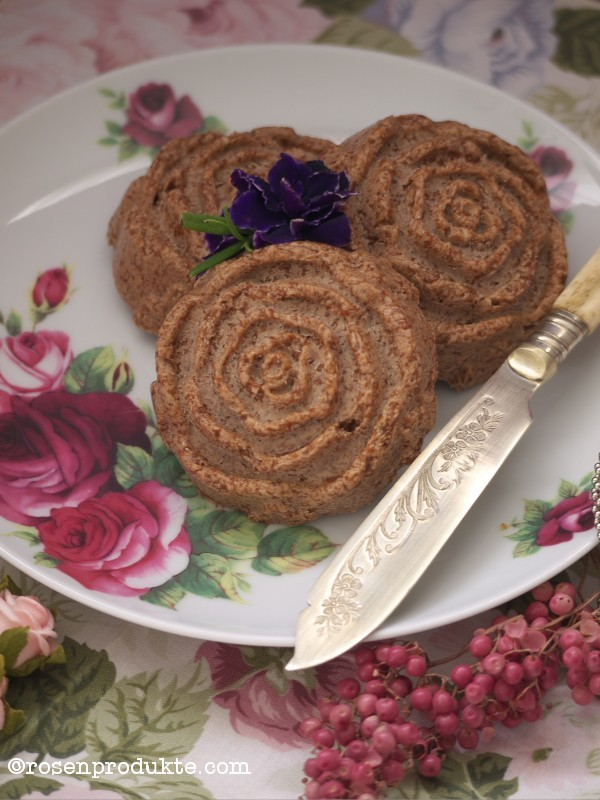Teller mit Schoko-Senf-Butter