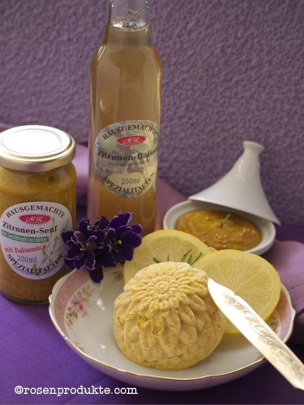 Zitronen-Senf-Butter