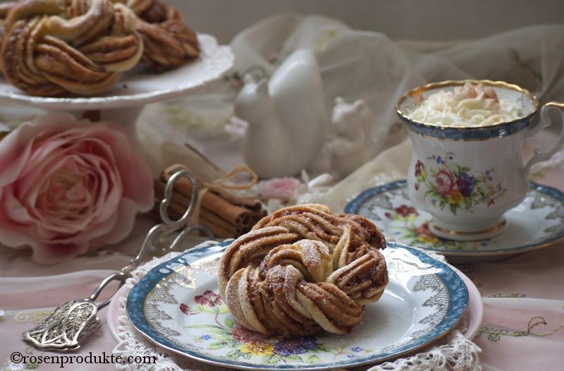 rosen essen Hefeteig Rose