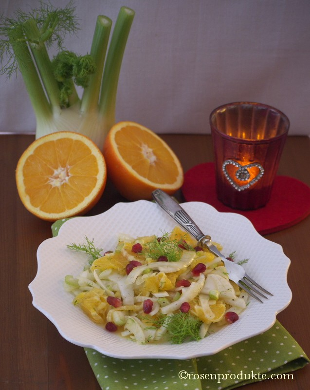 Fenchel Orangen Salat