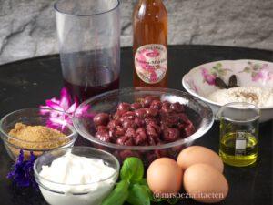 Zutaten: Kirsch Clafoutis einfacher Kuchenteig