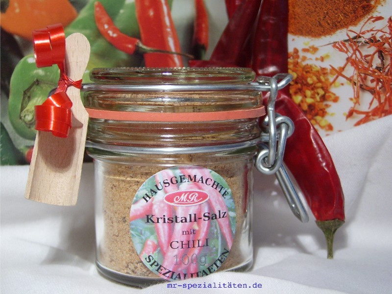 Chili Salz für Chili Senf Butter
