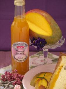 Mango Balsam Essig für Salatbowl