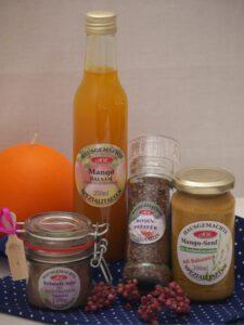 Mango Set für Mango Senf Butter