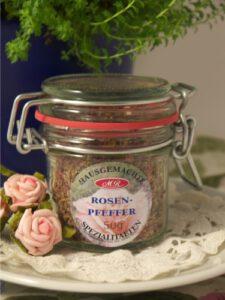 Rosenblüten Pfeffer für Salatbowl