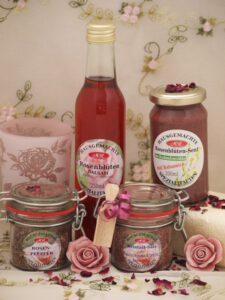 Set für Rosen-Senfbutter
