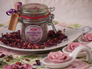 Rosenblüten-Zucker für Bärentatzen rezepte
