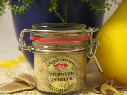 Zitronen Pfeffer für Gnocchi - Pfanne
