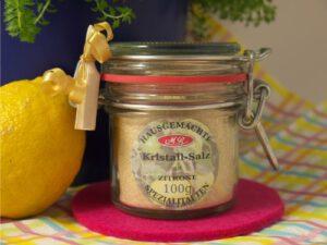 Zitronen Salz für Gemüse Food Bowls