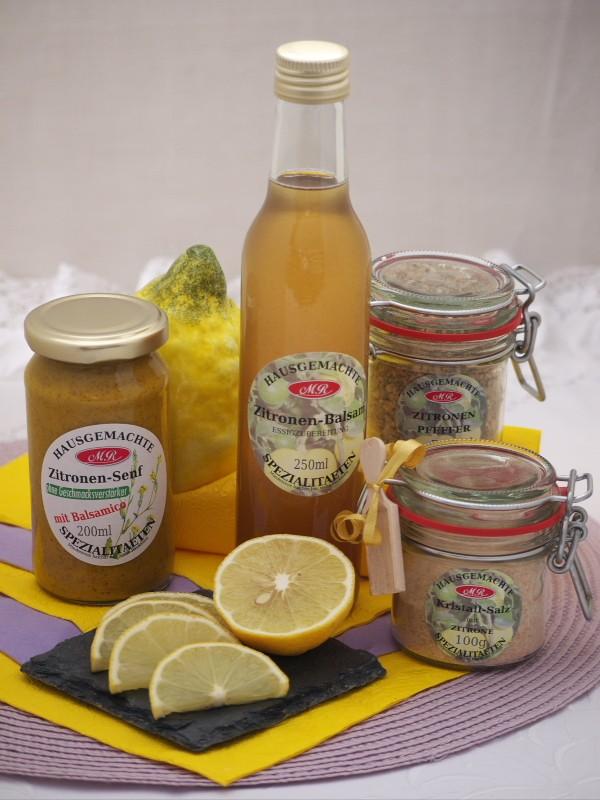 Zitronen Set für Zitronen Senf Butter