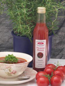 Tomaten-Balsam-Essig für Nudelnester