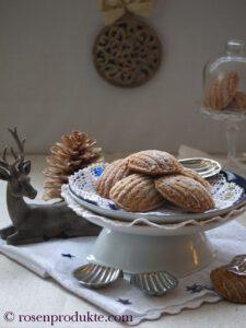 Bärentatzen rezepte mit Weihnachtsdeko