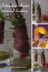 Schinken Salat im Glas einmal anders