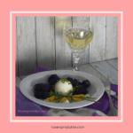 Eier in Senfsosse mit Zitronen-Balsam-Essig