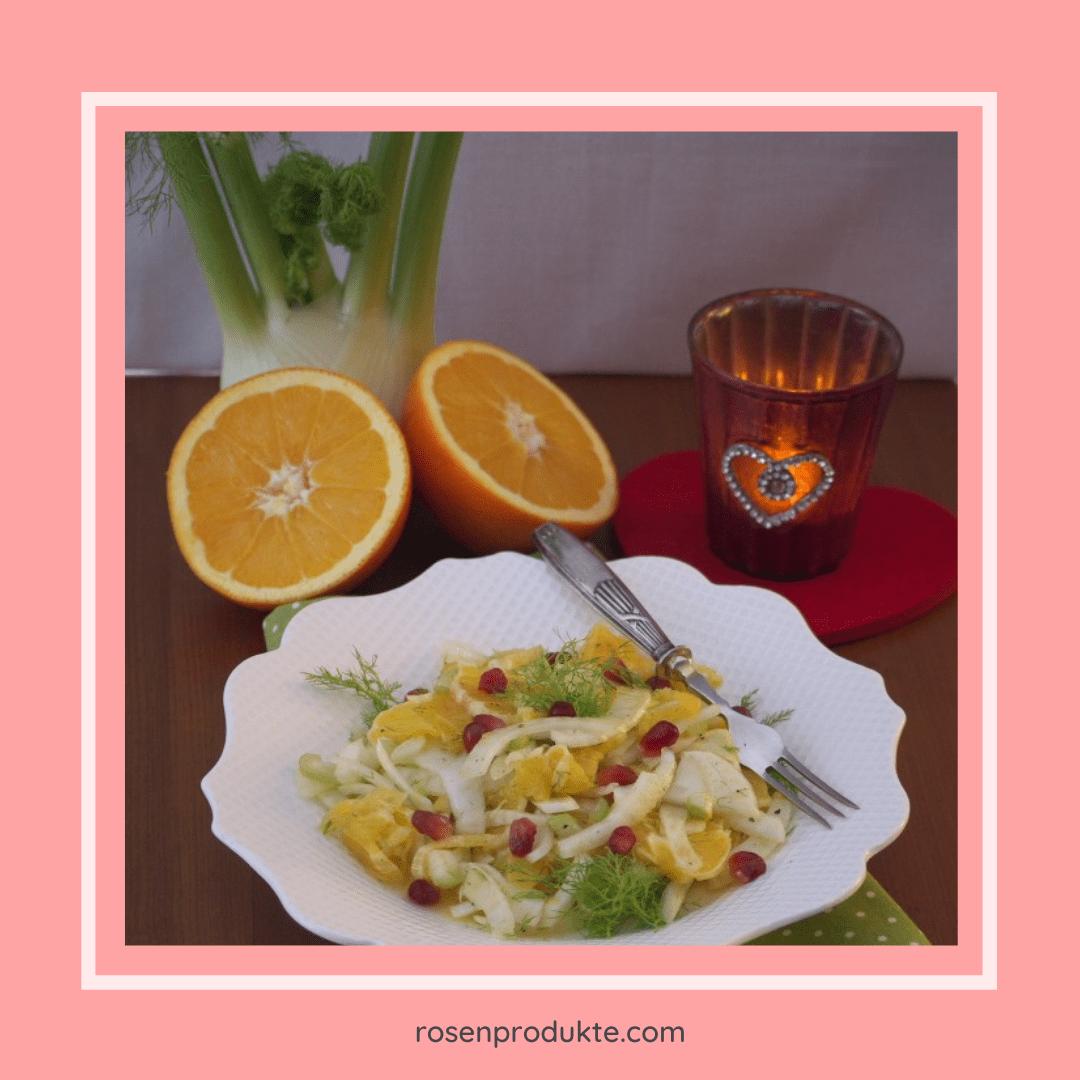 Read more about the article Fenchel Orangen Salat mit Minz-Sirup