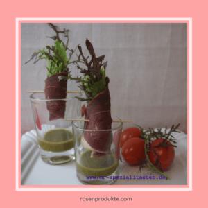 Read more about the article Salat im Glas: einfache kreative Salatidee.